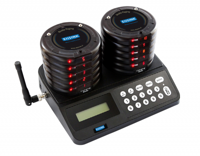 Gastenoproepsysteem all-in-one incl. 10 coasters